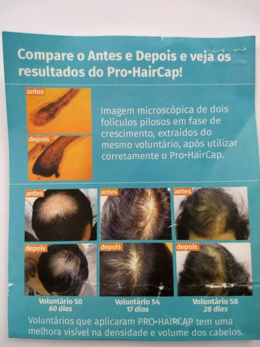 2 pro haircap tônico fortalecimento redução de queda capilar