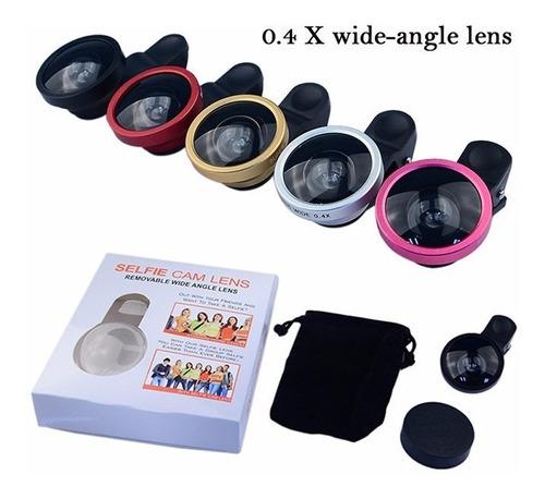 2 profissional telefone 0,4x lente grande angular lentes