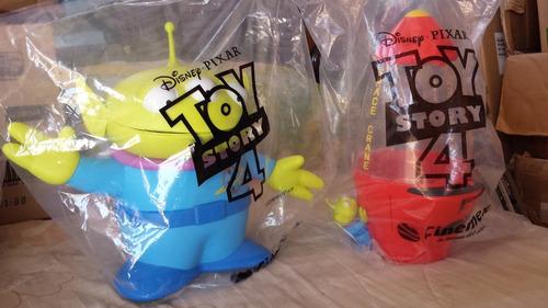 2 promos cinemex toy story 4 alien & alien garra #2