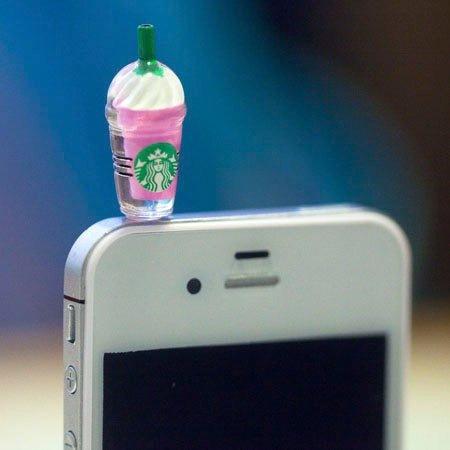 2 Protector Audifonos Plug Antipolvo Apple Iphone 6