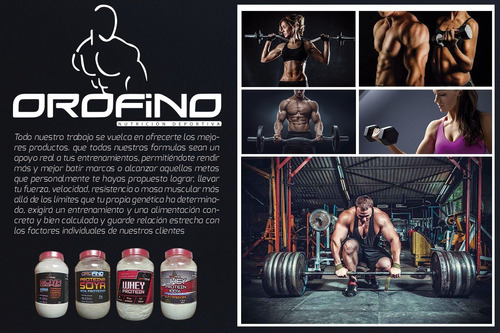 2 proteina orofino soya (60 serv) + envio gratis