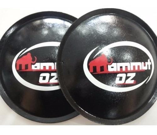 2- protetor calota para falante mammut oz 130mm + cola
