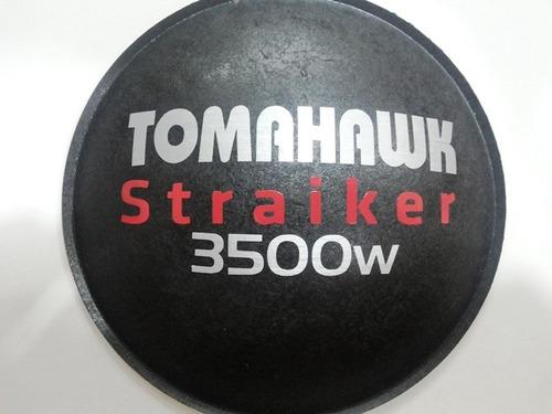 2- protetor calota para falante tomahawk straiker 3500 160mm