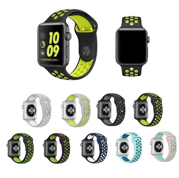 4044ba21a0a 2 Pulseiras Nike Para Apple Watch 38mm A 44mm Séries 1