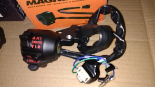 2 punho de luz (par) em metal direito e esquerdo cb 400 450