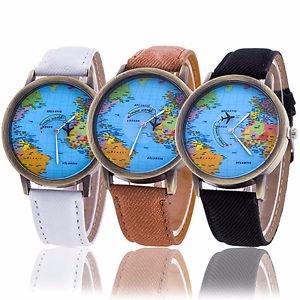 Reloj Mapamundi Amor Regalo Pzas Mundo Avion Gratis 2 Envio lKJT13Fc