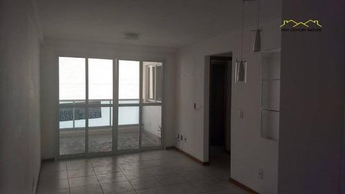 2 quartos próximo ao shopping praia da costa - ap2414