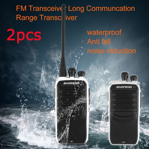 2 radios baofeng 520mhz impermeable- similar a motorola icom