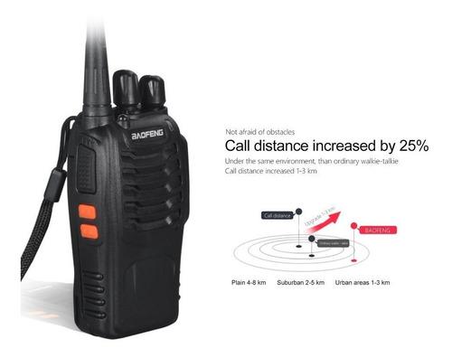 2 radios baofeng bf-888s walkie talkie uhf  regalo para baof