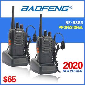 2 Radios Motorola Baofeng Bf-888s, 400-470mhz 5w/16 Canales!