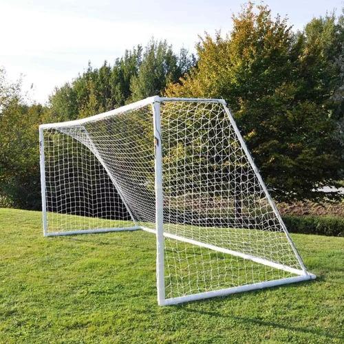 2 redes arcos futbol 11 trapezoidal 7,44x2,45.m hilo 2,8.mm