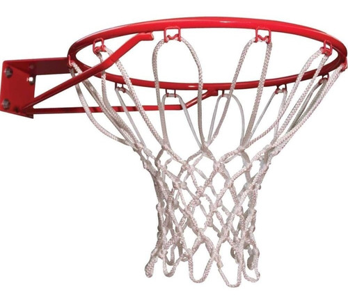 2 redes basquet profesional 12 enganches basket basquetbol - reglamentaria - resiste agua y sol