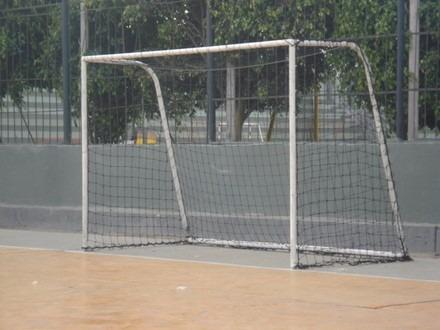2 redes mallas fulbito futsal futbol sala medida 3m x 2m
