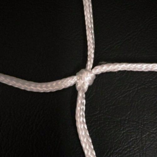 2 redes red arco handball 3x2.m x 75cm hilo 4mm uso exterior - material virgen de alta tenacidad resistente sol y lluvia
