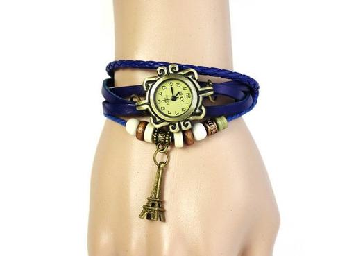 2 relógio feminino pulseira em couro pu diversos modelos