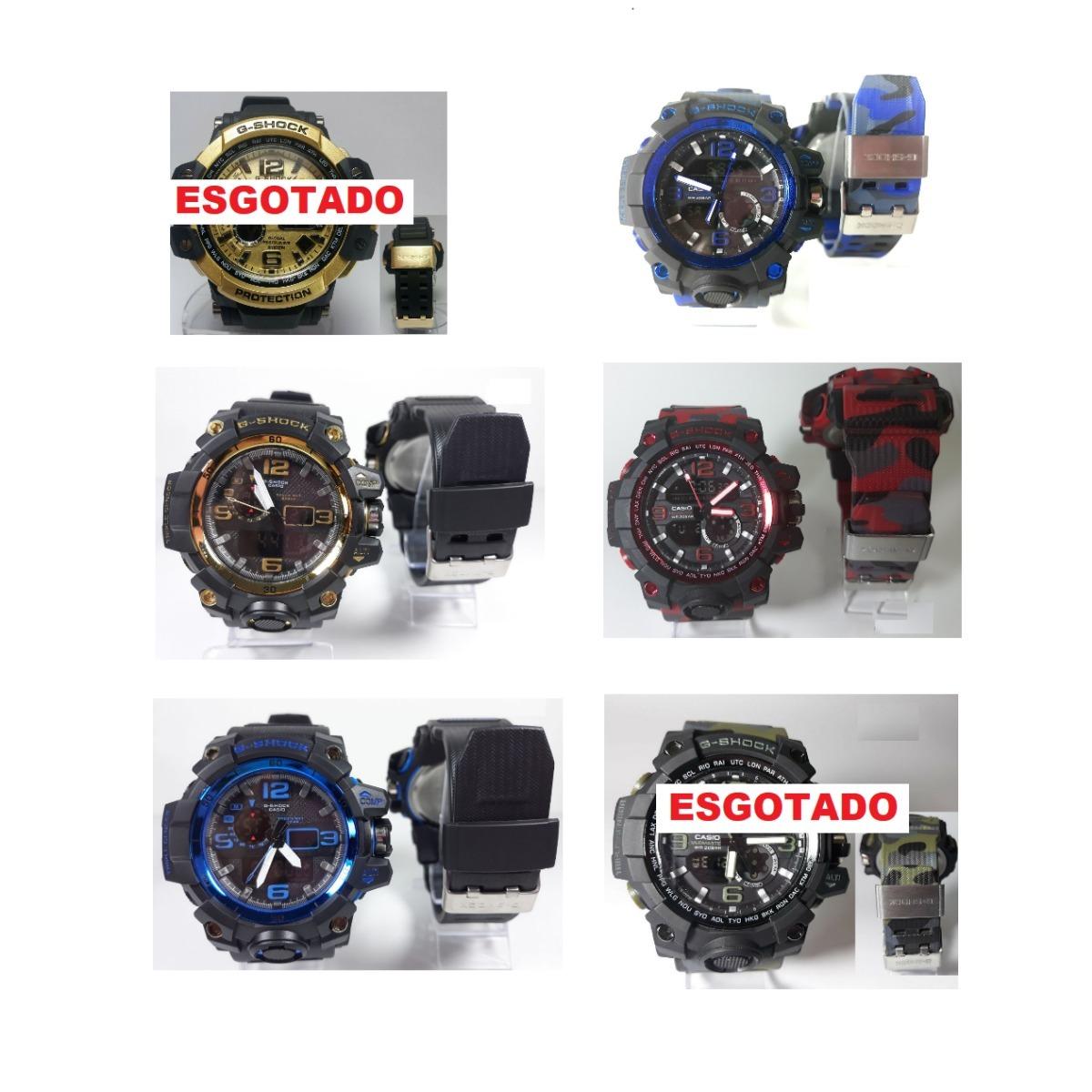 960641b564f 2 relógio g-shock primeira linha com caixinha frete gratis. Carregando zoom.