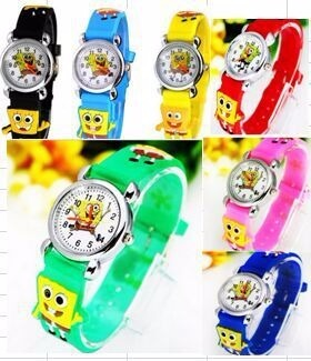 61965e0c5fa 2 Relógio Infantil Batman Robin Homem Aranha Promoção Barato