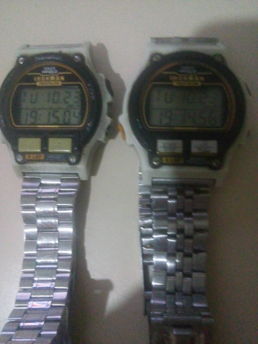 304de313c01 2 Relógios Timex Ironman 8 Lap Anos 90 (leia A Descrição) - R  150 ...