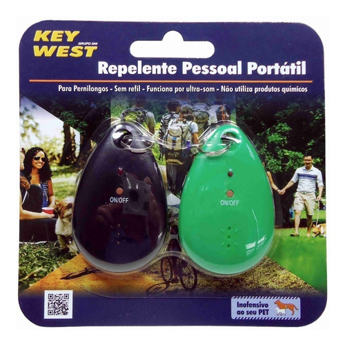 2 repelentes portátil eletrônico de mosquito pernilongo
