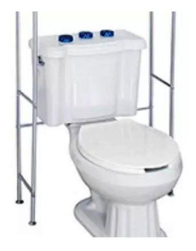 2 repisas baño inoxidable color cromo