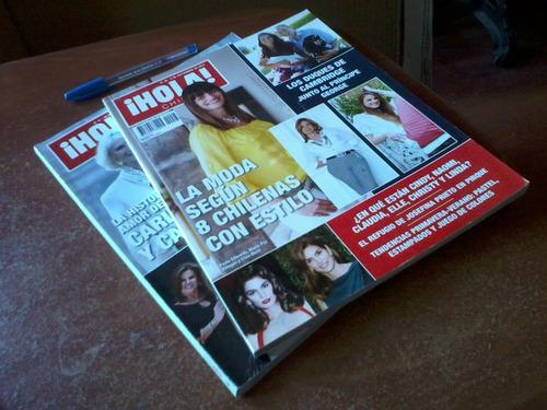 2 revistas  hola  - año 2013 - excelentes