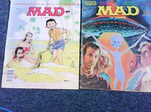 2 revistas mad