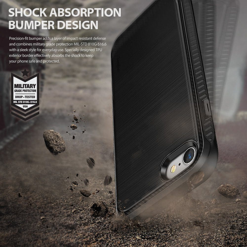 2 ringke onyx case fundas iphone 7 plus bumper resistente
