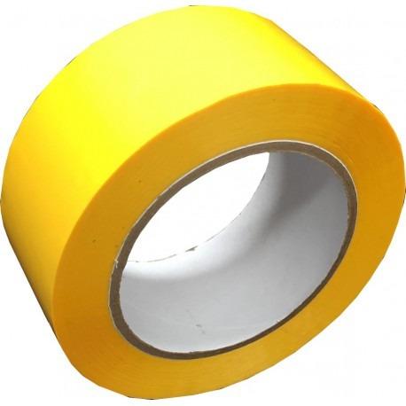 2 rollos cinta de seguridad amarilla trafico pesado 5cmx30mt
