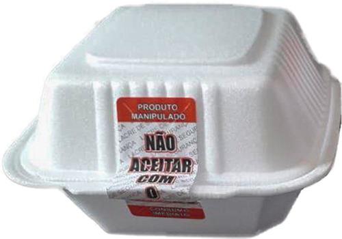 2 rolos - etiqueta lacre pizza e delivery c/ 1000 unid cada