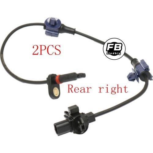 2 rueda abs speed sensor trasero izquierdo y derecho para ho
