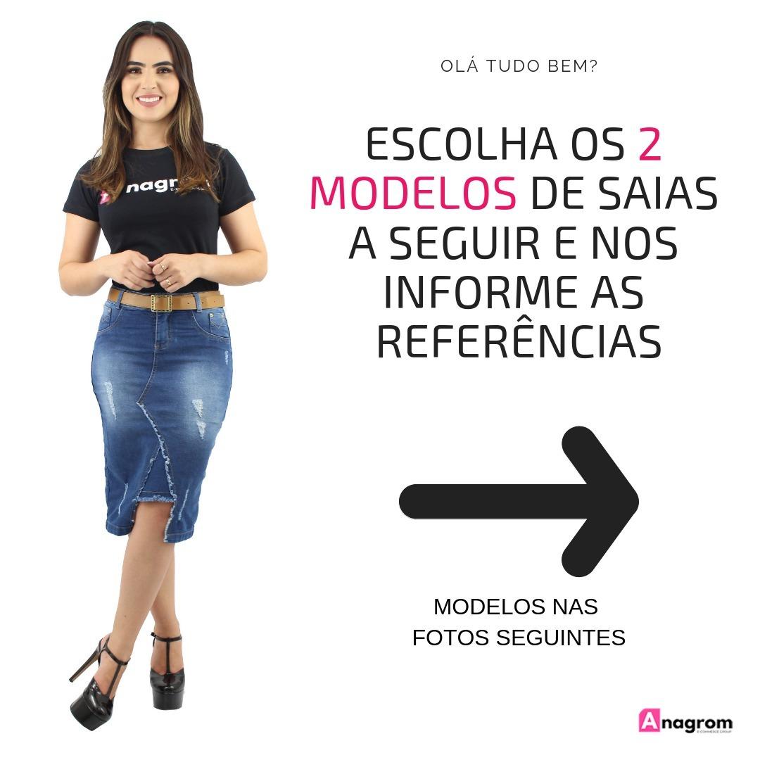 c5f7e32e6 2 saias jeans evangélicas coleção 2019 escolha seus modelos. Carregando  zoom.