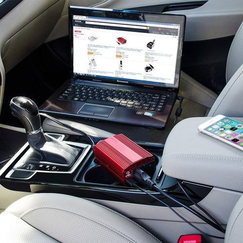 2 salidas 300w potencia inversor batería coche usb bestek
