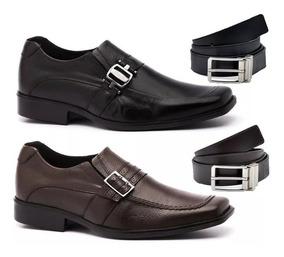 6ef12c7aa92f0 Kit Sapatos Masculinos Masculino - Sapatos Sociais e Mocassins para Masculino  Sociais em Minas Gerais com o Melhores Preços no Mercado Livre Brasil