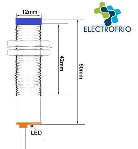 2 sensor proximidade indutivo npn lj12a3-4-z/bx impressora3d