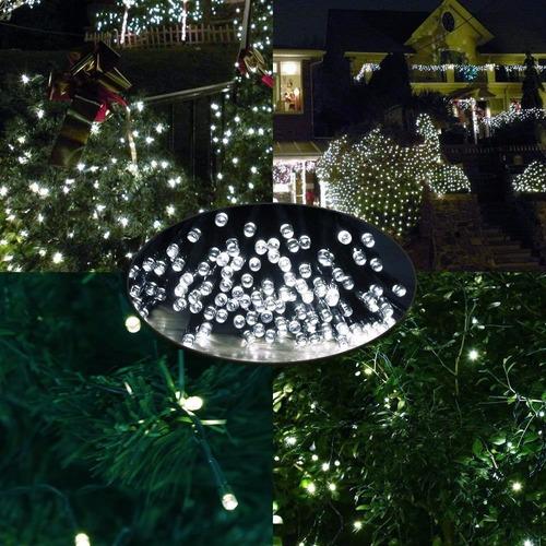 2 serie de 200 luces led solar de 22 m!! 1 serie flores!