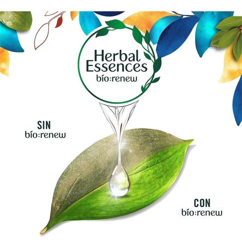 2 shampoo herbal essences argan oil + 2 acondicionadores