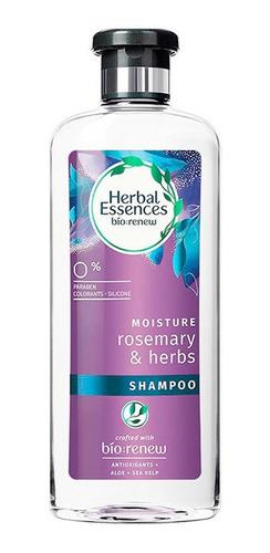 2 shampoo herbal essences rosemary & herbs +2 aco. 400ml