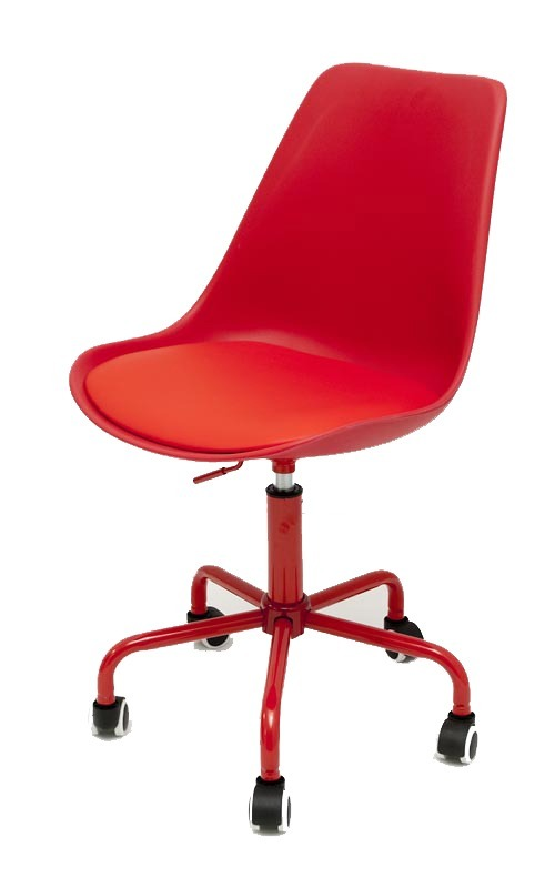 2 Sillas Oficina Pc Escritorio Ruedas Tulip Color Eames - $ 3.300,00 ...