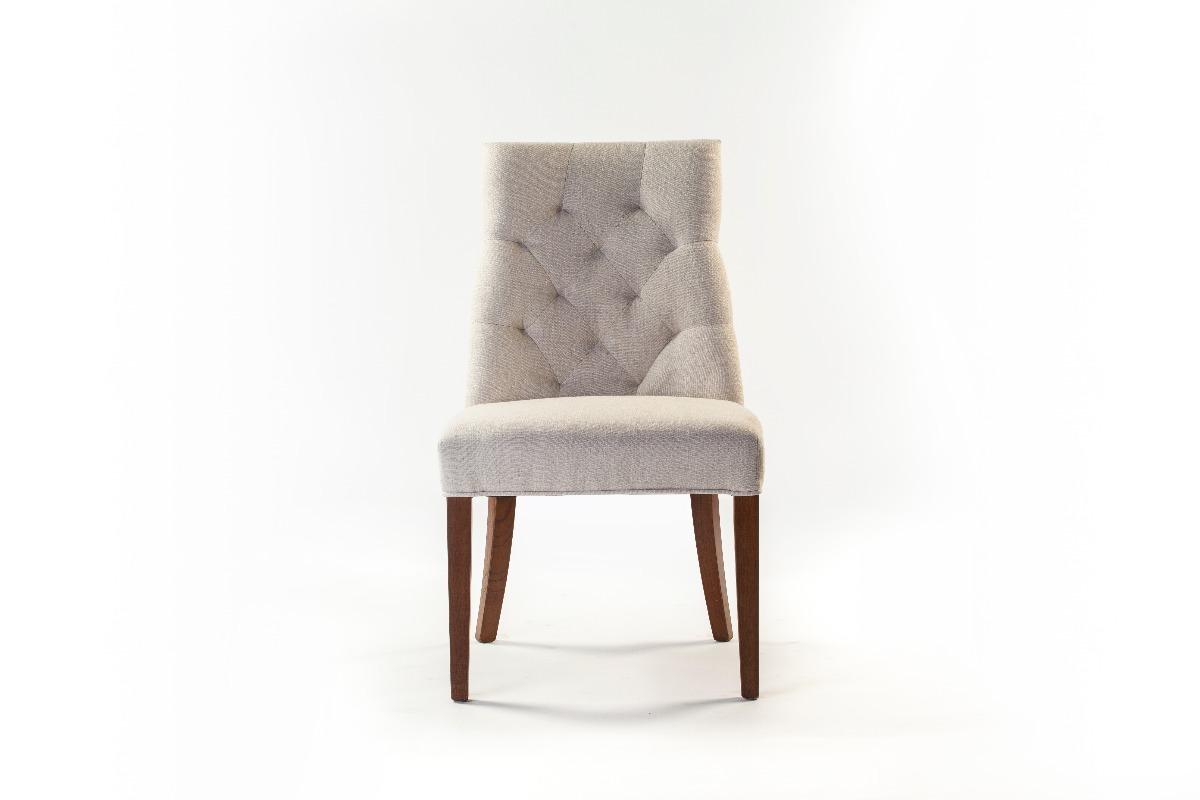 2 sillas tapizadas capitonadas madera caf importada 4 en mercado libre - Sillas provenzal tapizadas ...