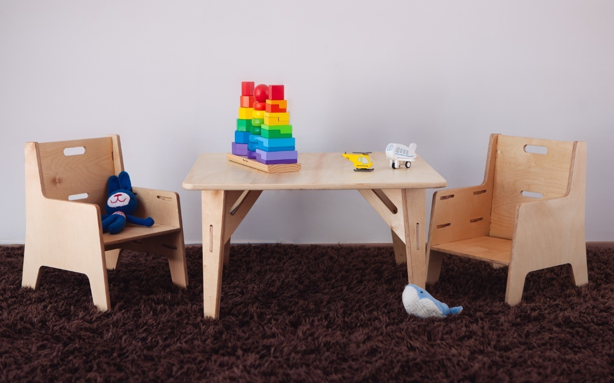 Nanu Montessori Eames Y Comedor 2 Ikea Sillas Mesa Niños 3j5L4AR