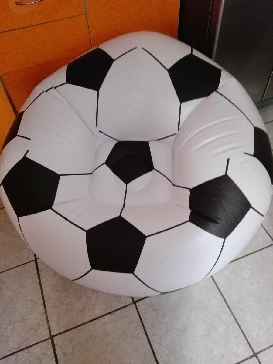 2 Sillon Inflable Diseño Pelota Futbol 20000 En Mercado Libre