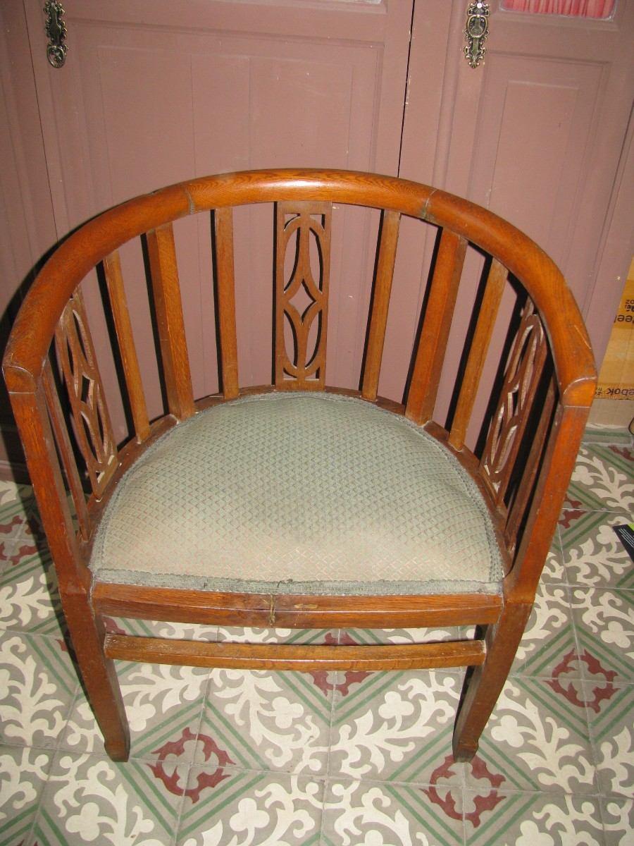 2 sillones antiguos de roble 1 2 punto en for Sillones clasicos antiguos
