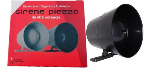 2 sirenes 12v alta potência  para alarme e cerca elétrica