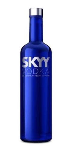 2 skyy vodka azul 1lt c/u