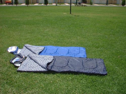 2 sleeping bag climas frios 0°c hecho en méxico envio incl
