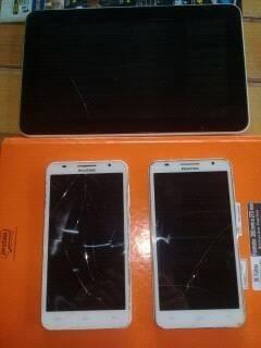 2 smartphones positivo s550 e um tablet tela 10 anvox