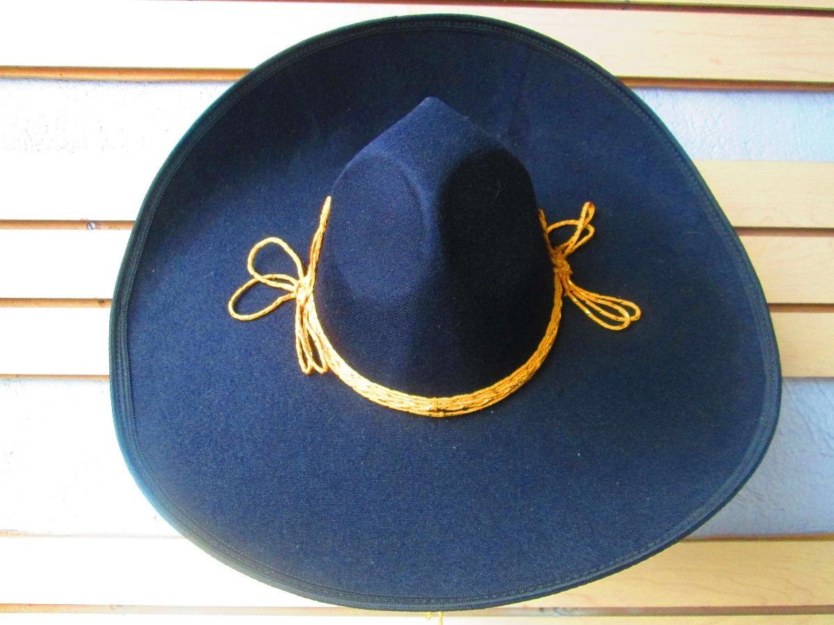 2 sombrero charro mariachi negro toquilla adulto mexico. Cargando zoom. 852790ed659