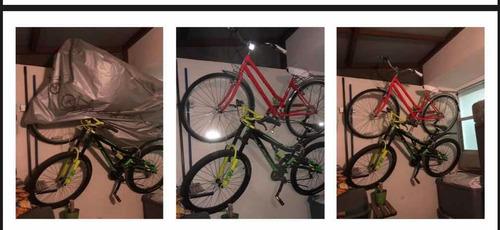 2 soportes para bicicletas