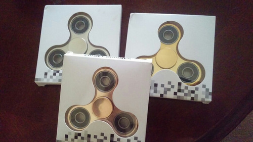 2 spinner metalicos fidget antiestres antiansiedad
