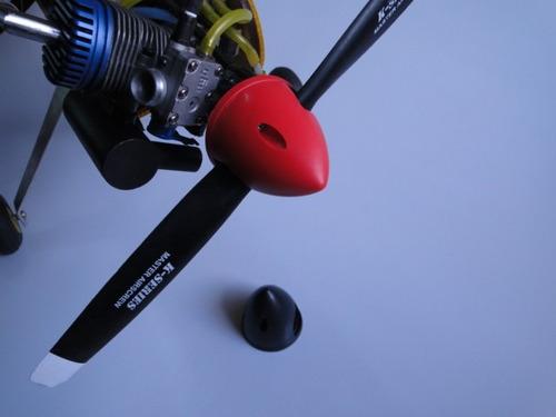 2 spinners 3 polegadas (75 mm) para motores glow e gasolina